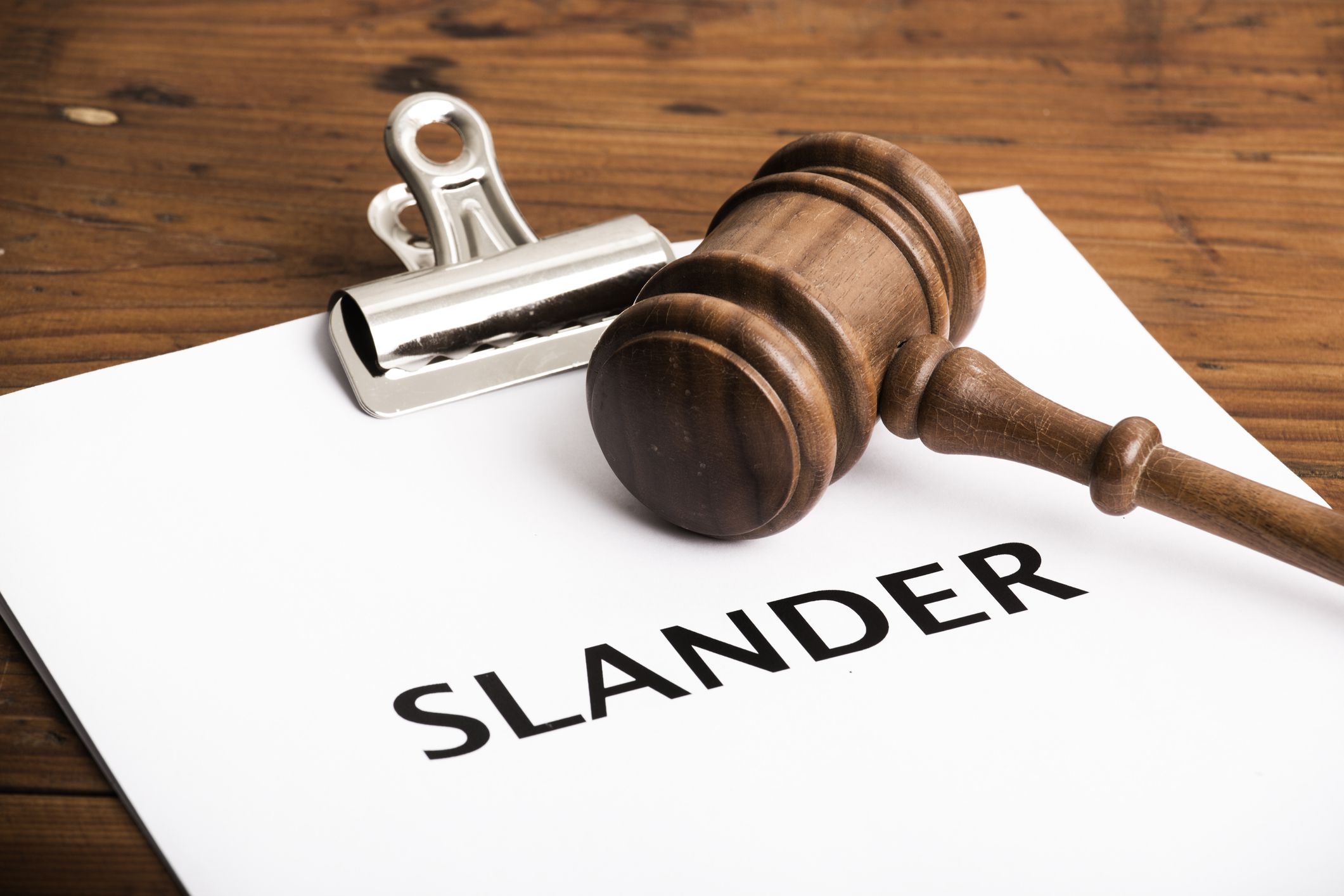 SLANDER OF TITLE: POTENTIAL CONSEQUENCES OF RECORDING A FALSE DOCUMENT.